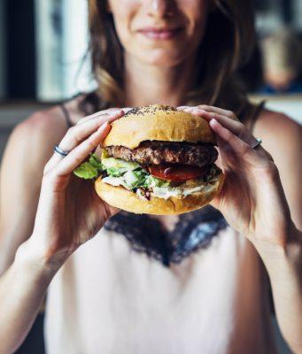non burger food lifestyle