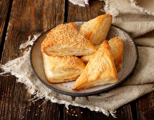 ricetta yoshoku sfogliatine al nori, sesamo e parmigiano food lifestyle