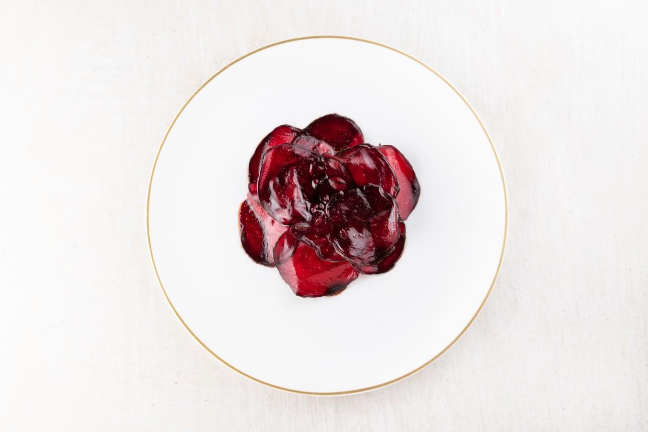 Insalata tiepidi di rape rosse, patata e mandorla_Brambilla Serrani