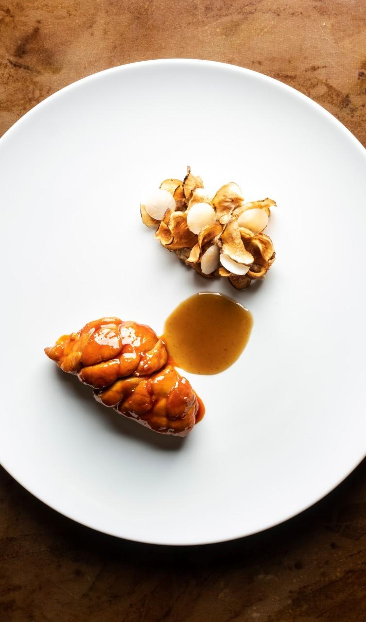 animella glassata al peperone rosso e topinambur-intervista-piccini-foodlifestyle